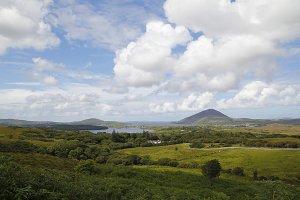 Connemara landscape, Ireland