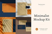 Minimalist No.1 - All Scenes by  in Mockups