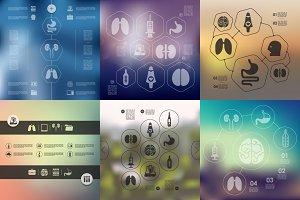 9 medicine infographics