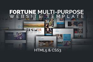 Fortune Responsive Website Template