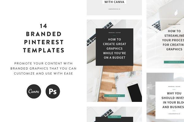 Jade Pinterest Templates