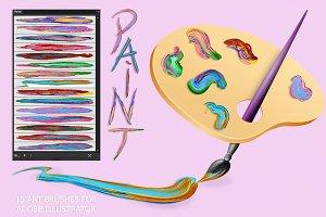Paint Brushes for Illustrator