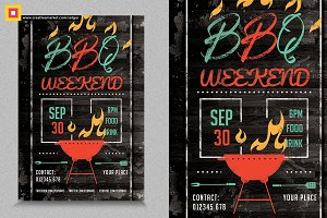 Barbecue / BBQ Party Flyer V1