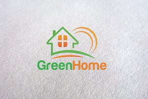 Green Home - Logo Template