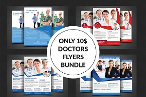 Medical Doctors Flyer Bundle