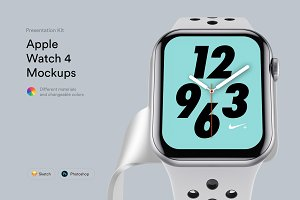 Apple Watch 4 Mockups | PK