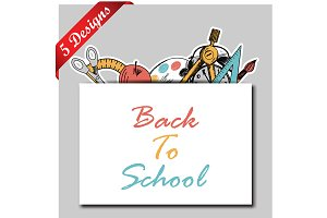 5 Back to School Designs