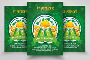 St. Patrick's Event Flyer Template
