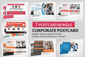 Corporate Postcard Bundle