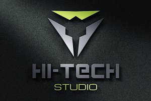 {50% OFF} Modern Hi-Tech Logo