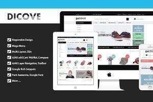 Dicove - Fashion Responsive Magento