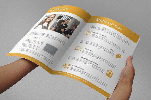 Professional Web Proposal Template in Stationery Templates - product preview 5