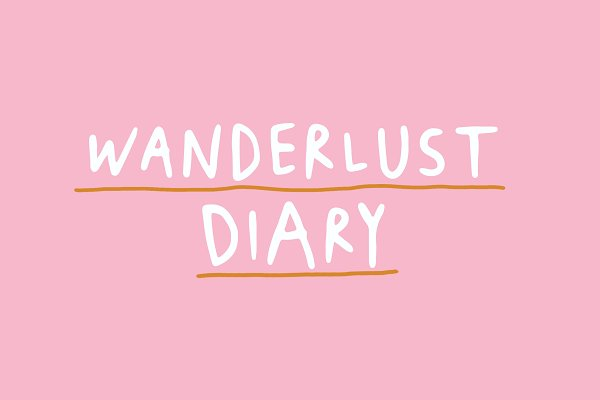 Wanderlust Diary