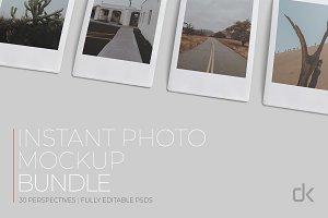 Instant Photo Mockup Bundle