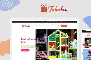 Tokoku - Kids Store WooCommerce