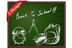 5 Classroom Blackboard Designs