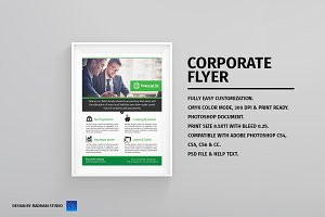 Financial Flyer Template