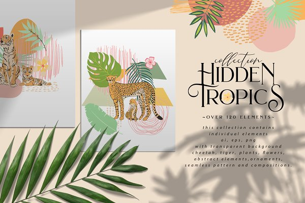 Illustrations: BilberryCreate - Hidden Tropics collection
