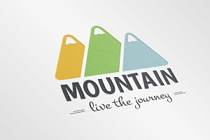 30% OFF Mountain Logo Template