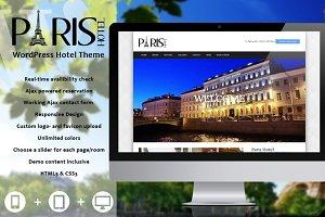 Paris - Hotel WordPress Theme