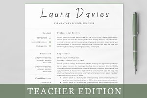 Resume / CV / Teacher