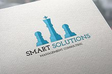 50%OFF Smart Solutions Logo Template