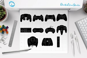 Game Controller SVG files.