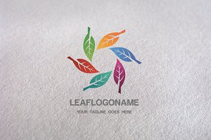 Leaf Eco / Leaf Logo Template