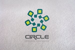 Technology / Circle Logo Template