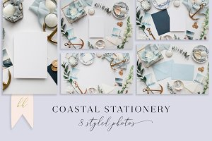 Coastal Stationery Set