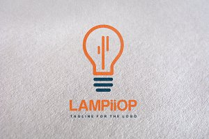 Fresh Ideas / light Logo template