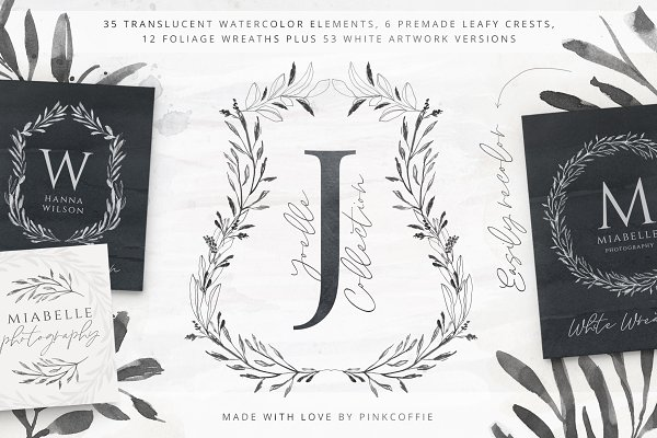 Joelle Watercolor Collection