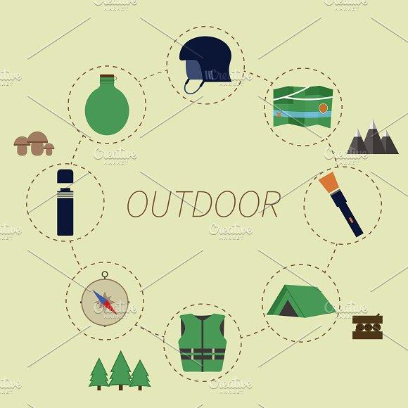 Outdoor Adventure Infographics