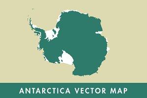 Antarctica Vector Map