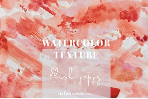 Red Watercolor Texture Background