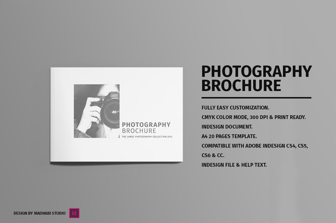 photography brochure template free - minimal photography brochure vol 01 brochure templates
