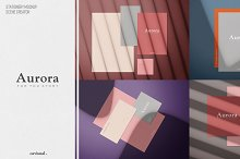 Aurora - (Mockup Kit) Scene Creator by  in Mockups