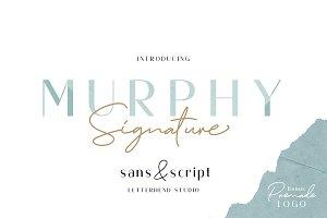 Murphy - Script & Sans (+BONUS)