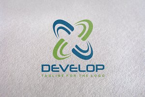 Develop / Technology Logo Template