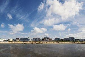 Cuxhaven at low tide