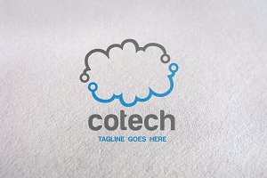 Cotech / Cloud Logo Template