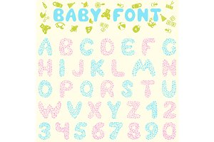 2 Baby Font Designs