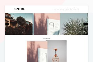 CNTRL - A Wordpress Genesis Theme