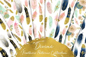 Divine Feathers Patterns Collection