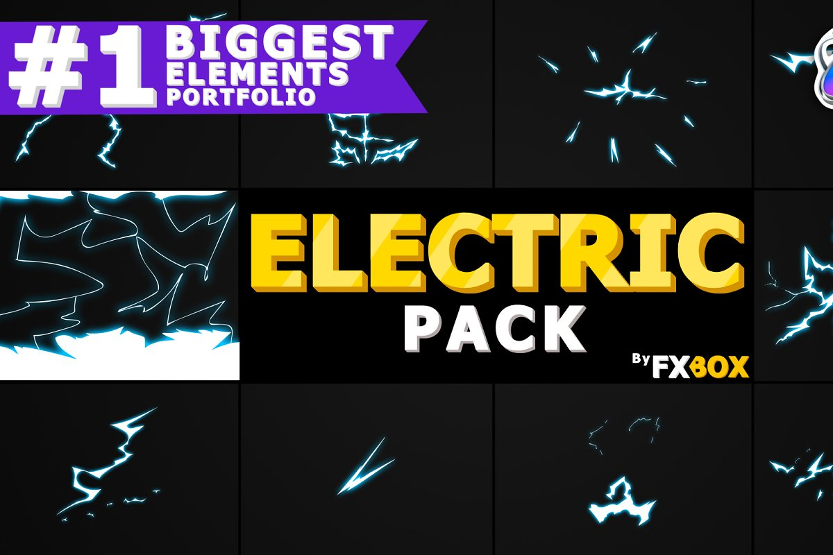 ELECTRIC Elements Apple Motion