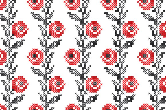 Ukrainian Ethnic Seamless Patterns in Patterns - product preview 2