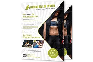 Fitness & Health Center Flyer
