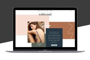 Squarespace Template: Wildwood