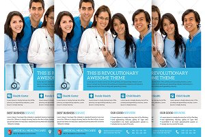 Medical & Doctor Flyer Template