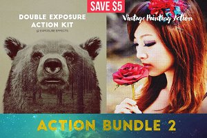 Exposure & Painting Action Bundle 2